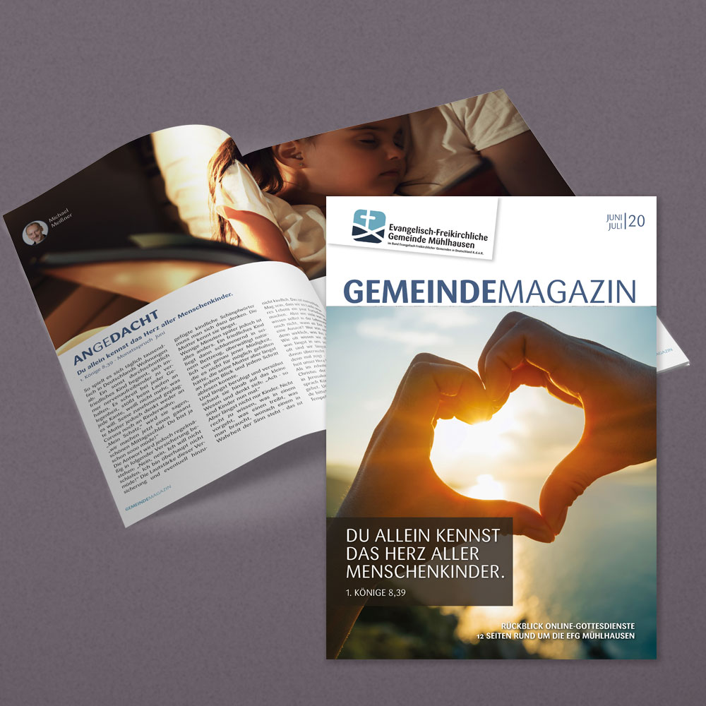 GemeindeMagazin Ausgabe Juni/Juli 2020